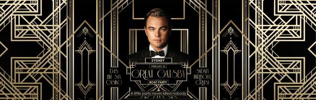 Great Gatsby Boat Party - Sydney