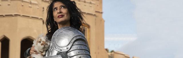 Shappi Khorsandi Skittish Warrior
