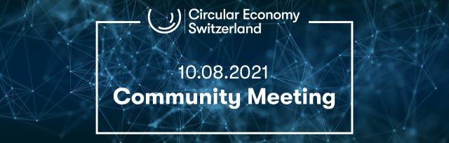 Community Meeting Circular Economy Switzerland