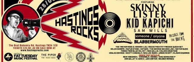 HASTINGS ROCKS FESTIVAL 2021