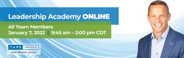 Dental Assistants Leadership Academy Online