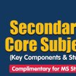 [MS] Sec 1 Core Subjects (Key Components & Study Tips) image