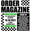 NO ORDER MAGAZINE presents ISSUE 01 LAUNCH PARTY image