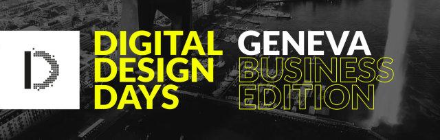 Digital Design Days Geneva 2019