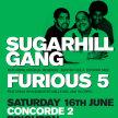 Sugarhill Gang & The Furious 5 // Chalk Brighton image