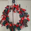 Upcycled Fabric Christmas Wreath workshop [Ref#490#5284] image