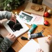 Lino print your own Christmas cards and wrapping paper image