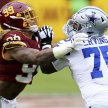 Cowboys vs WFT $56.00 Round Trip Shuttle from Germantown, MD to FedEX Field image