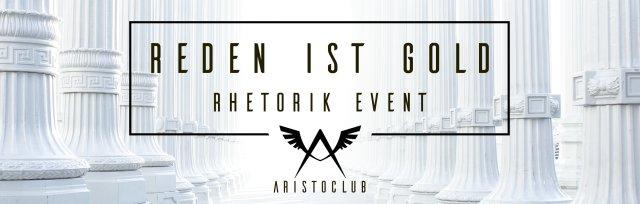 Reden ist Gold | Rhetorik-Event von Aristoclub