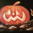 Pumpkin Painting image
