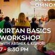 Kirtan Basics Workshop w/ Abishek & Kishori image
