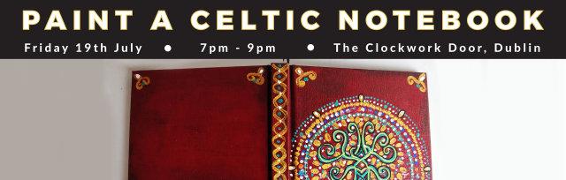 Paint a Celtic Notebook