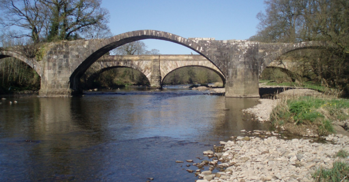 Reserve your place for Tales from the river bank- Medieval bridges of the Ribble  Valley on Zoom, Thu 25 Mar 2021 7:30 PM - 9:00 PM