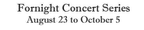 Fortnight Concerts