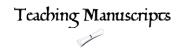 Teaching Manuscripts