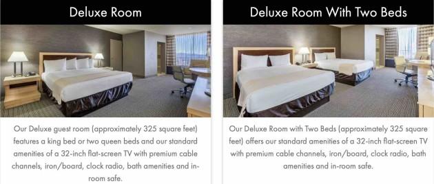 Plaza Hotel Casino - Deluxe Rooms