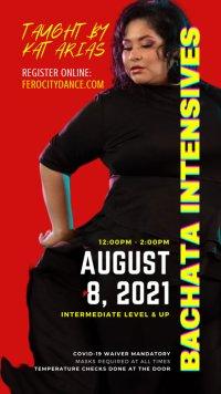 Intermediate Bachata Intensive with Kat Arias image