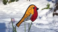 Mosaic Robin with Yvette Green - £74 image