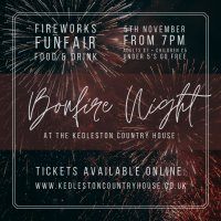 Bonfire Night at The Kedleston Country House image