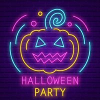 Halloween Glow Paint Party image