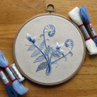 Sunnycroft Embroidery Workshop - Winter Fern image