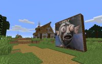 Explore CODAME or build your own art gallery in Minecraft image