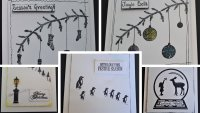 Christmas Cards - An Introduction to Stamping with Nigel Ginley - £30 image