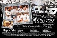 10th Annual All White Steppers Extravaganza Destination, Florida Steppers International Orlando, Fl. image