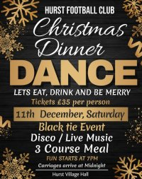 Christmas Dinner Dance image