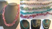 Jewellery Making - Crochet Necklace & Earrings with Jenny Flight - £74 image