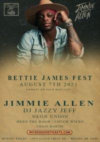 Bettie James Fest/Jimmie Allen w/ DJ Jazzy Jeff/Neon Union/Hero the Band/Chuck Wicks/Chase Martin image